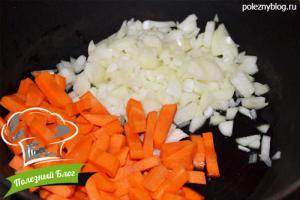 Овощное рагу со стручковой фасолью | Шаг 3