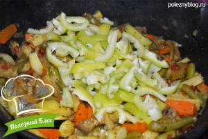 Овощное рагу со стручковой фасолью | Шаг 13