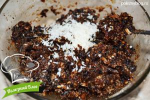 Полезный Блог - Батончики с черносливом в кокосовой стружке - Шаг 3