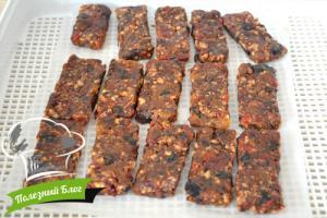 Батончики из сухофруктов и орехов | Шаг 9