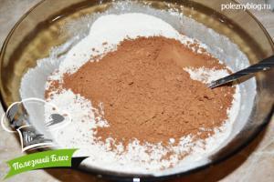 Шоколадный брауни | Шаг 2