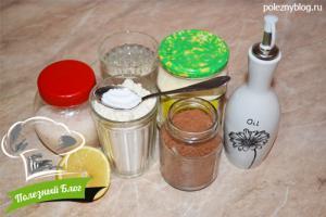 Шоколадный брауни | Ингредиенты