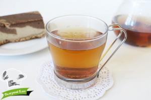 Чай из кэроба | Готовый