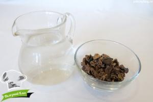 Чай из кэроба | Ингредиенты