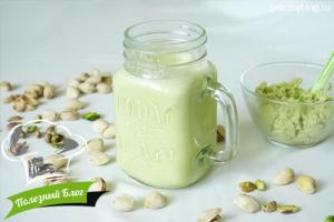 Фисташковое молоко | Готовое