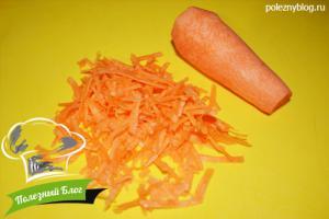 Хек с овощами в духовке | Шаг 3