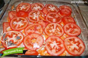 Хек с овощами в духовке | Шаг 10