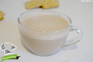 Какао с урбечом | Готовый