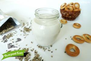 Конопляное молоко | Готовое