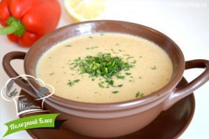 Крем-суп с опятами | Готовый