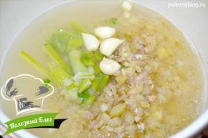 Крем-суп из спаржи, кабачка и риса | Шаг 16
