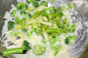 Крем-суп из спаржи с брокколи | Шаг 6
