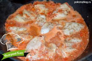 Крылышки в красном томатном соусе | Шаг 6