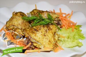Куриные бёдра в пароварке | Готовые