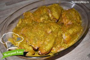 Куриные бёдра в духовке | Шаг 3