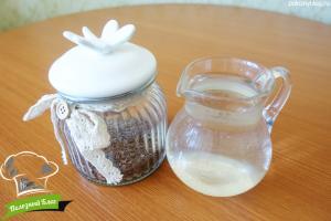 Льняное молоко   Ингредиенты