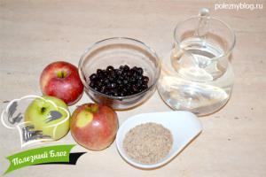 Льняной смузи из черники с яблоками | Ингредиенты