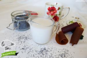 Маковое молоко   Готовое