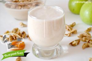 Молоко из грецких орехов | Готовое