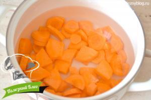 Морковный суп пюре с чечевицей | Шаг 4