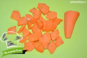 Морковный суп пюре с чечевицей | Шаг 3