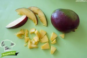 Мороженное из манго и кокоса | Шаг 1