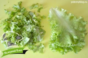 Овощной салат с кукурузой | Шаг 4