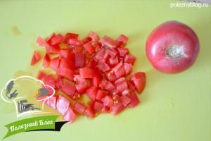 Овощной салат с кукурузой | Шаг 3