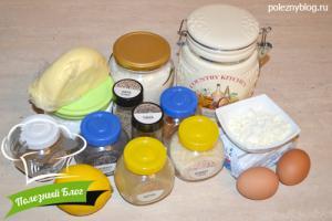 Печенье «Дорожное» | Ингредиенты