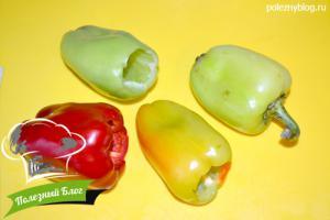 Перец, фаршированный рисом и овощами | Шаг 9