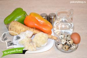 Перепелиные яйца, запечённые в пюре | Ингредиенты