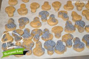 Песочное печенье с маком   Шаг 8