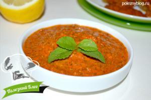 Пикантный томатный соус | Готовый