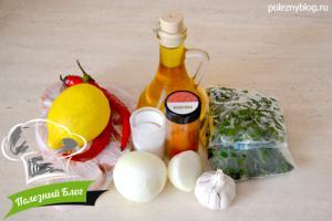 Пикантный томатный соус | Ингредиенты
