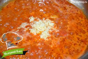 Пикантный томатный соус | Шаг 7