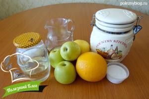 Постная шарлотка | Ингредиенты