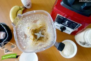 Постное банановое печенье | Шаг 3