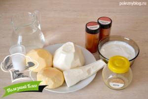 Пюре из репы и пастернака | Ингредиенты