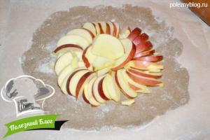 Ржаная галета с яблоками и корицей | Шаг 5