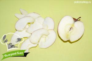 Ржаная галета с яблоками и корицей | Шаг 2