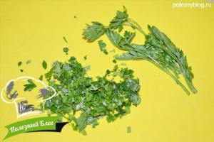 Салат с нутом и помидорами | Шаг 6