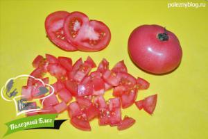 Салат с нутом и помидорами | Шаг 3