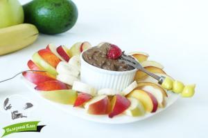 Шоколадный крем из авокадо | Готовый