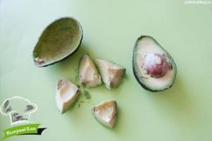 Шоколадный крем из авокадо | Шаг 1