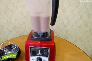 Смузи с маковым молоком | Шаг 8