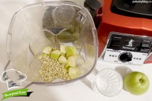 Смузи с зеленой гречкой | Шаг 3