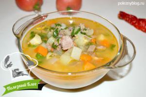Суп из утки | Готовый