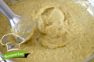 Суп-пюре из кабачков   Шаг 9