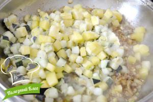 Суп-пюре из кабачков | Шаг 6