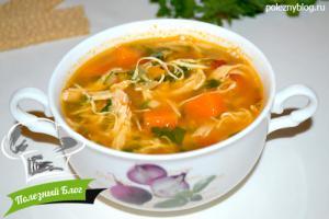 Тыквенный суп с курицей | Готовый